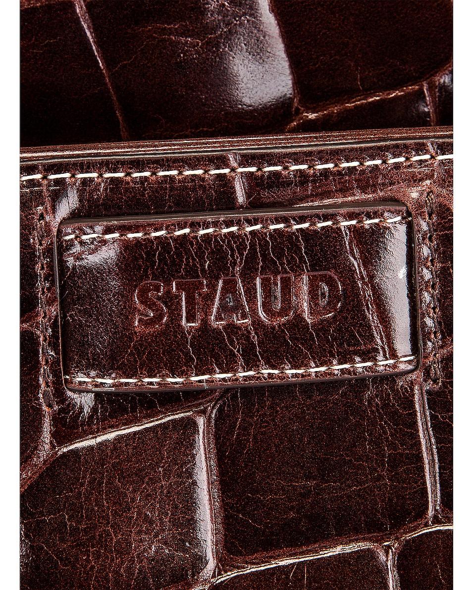 Image 6 of Staud Amal Bag in Chocolate