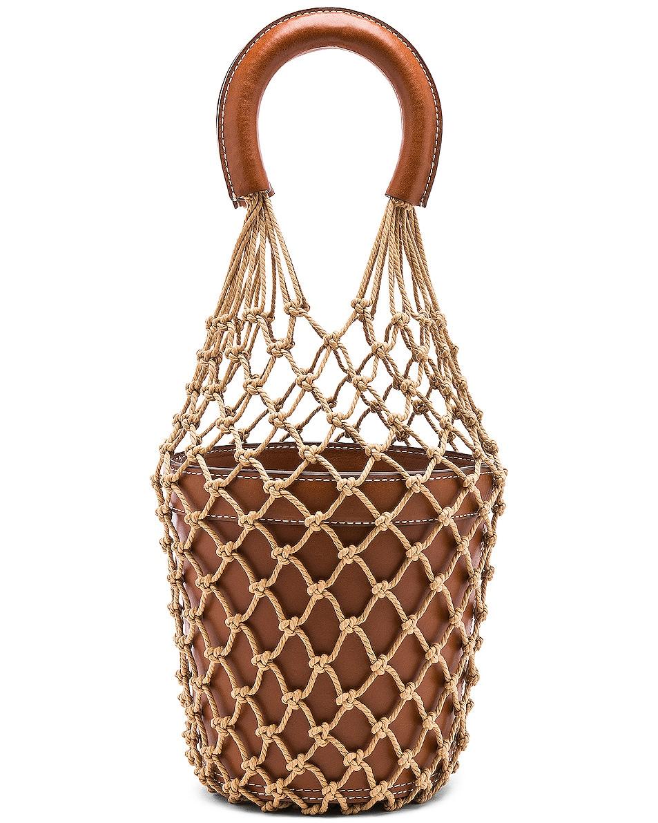 Image 1 of Staud Moreau Bag in Brown