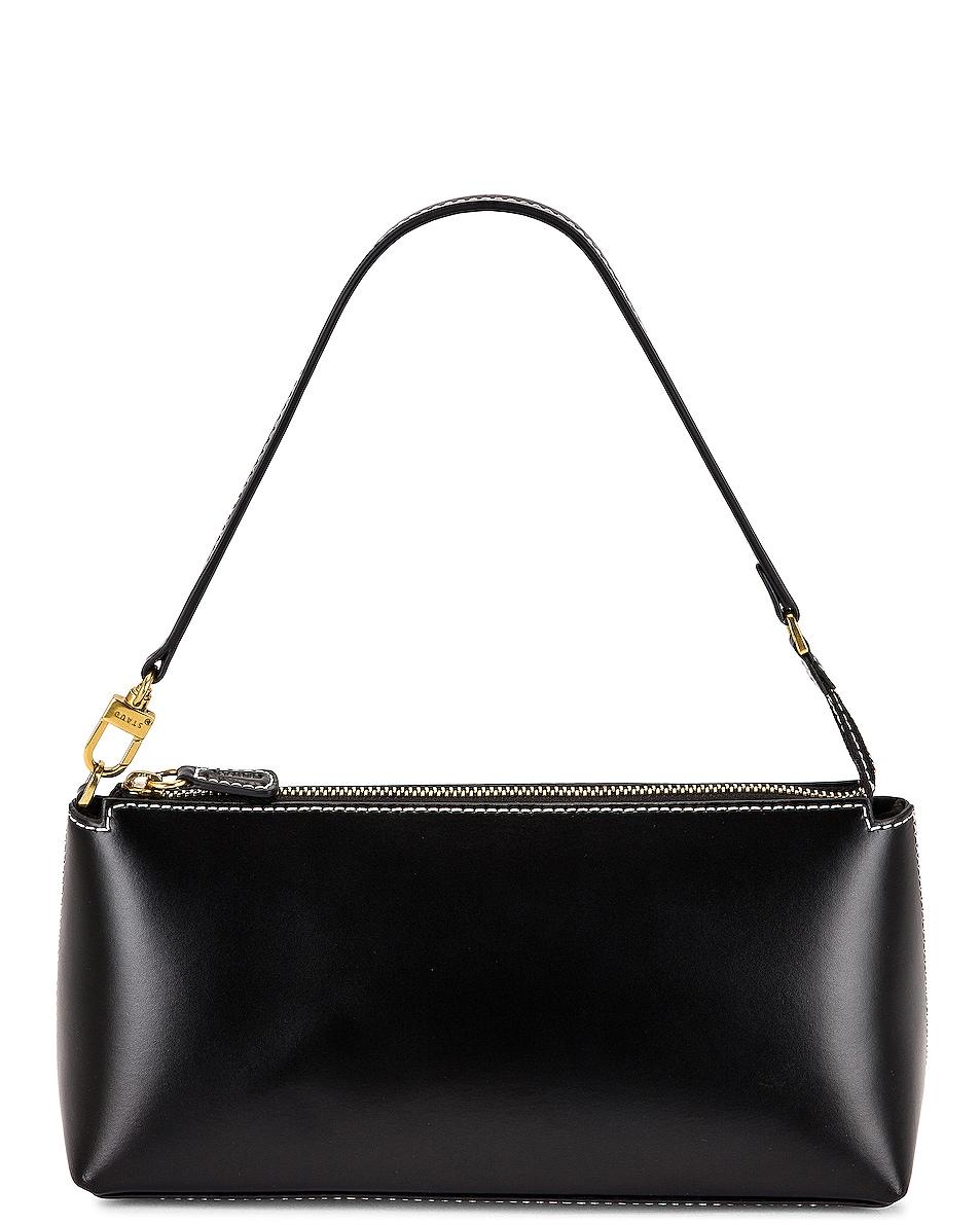 Image 1 of Staud Kaia Shoulder Bag in Black