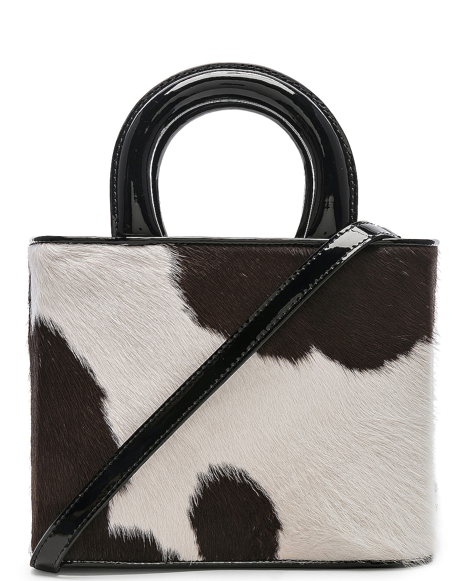 Image 1 of Staud Nic Bag in Cow Print