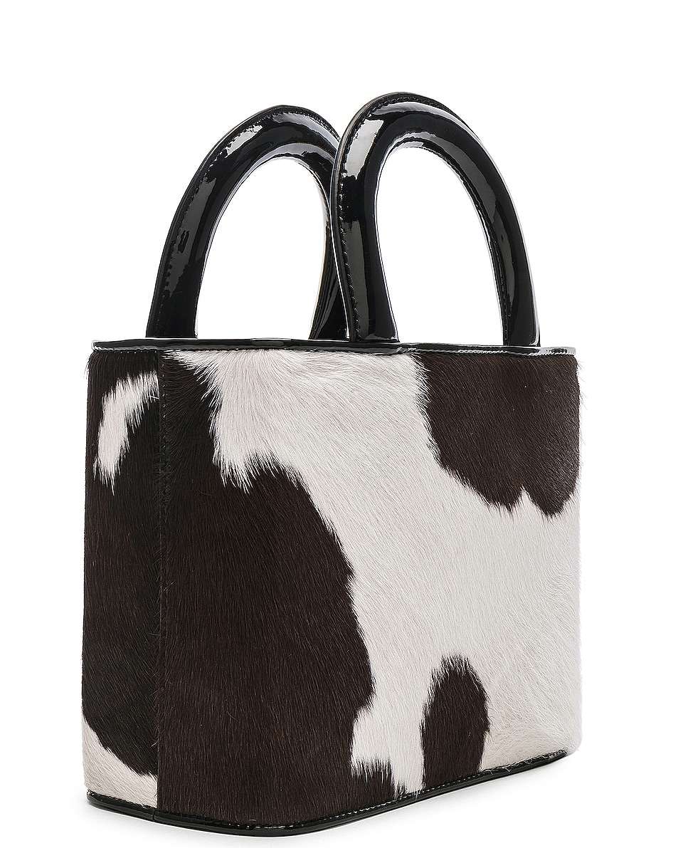 Image 4 of Staud Nic Bag in Cow Print