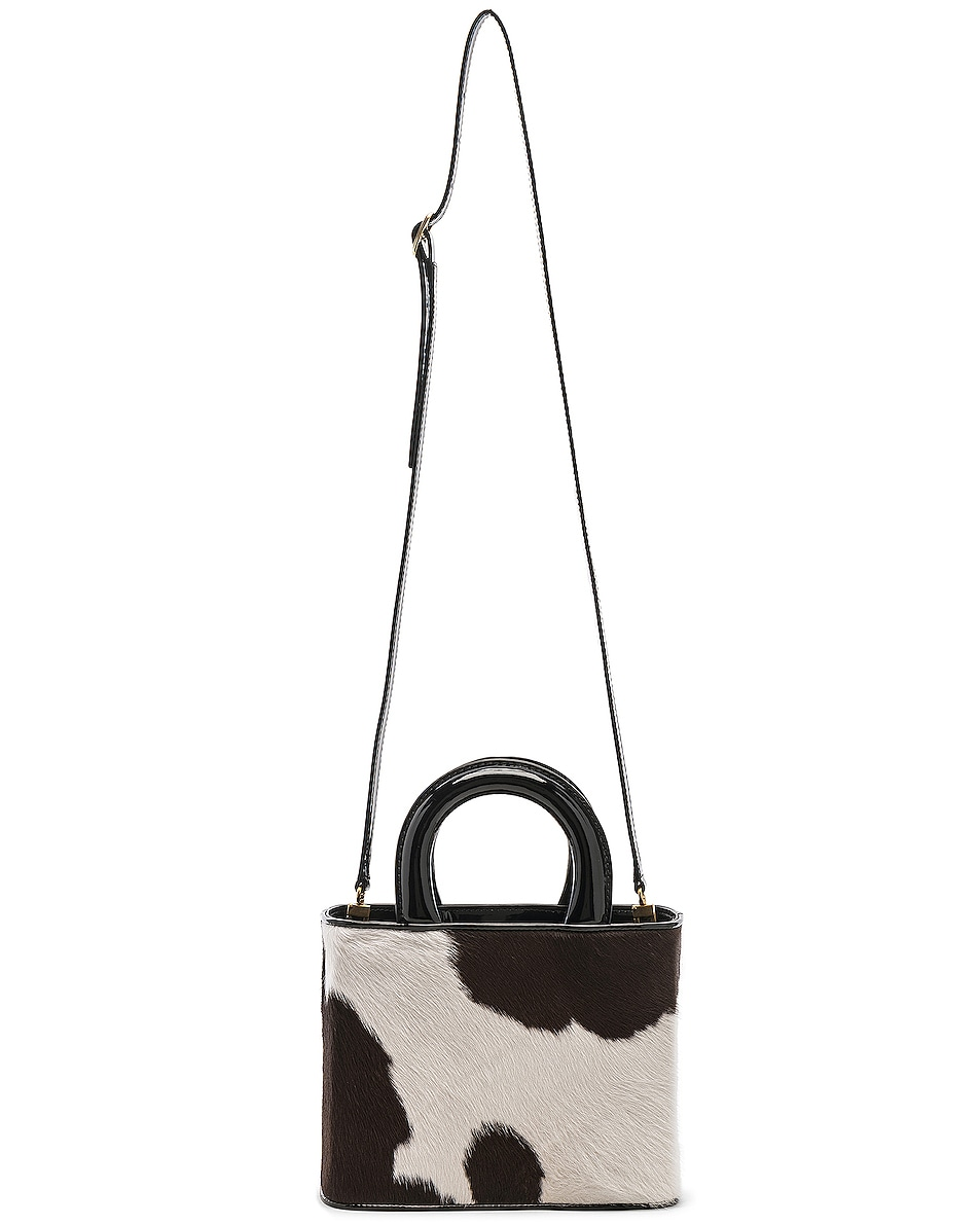 Image 6 of Staud Nic Bag in Cow Print