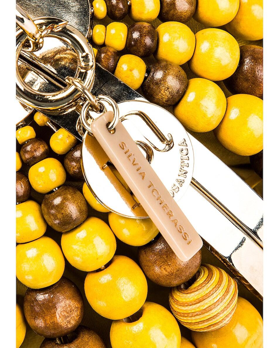 Image 6 of SILVIA TCHERASSI x Rosantica Goby Bag in Orange & Yellow Beads