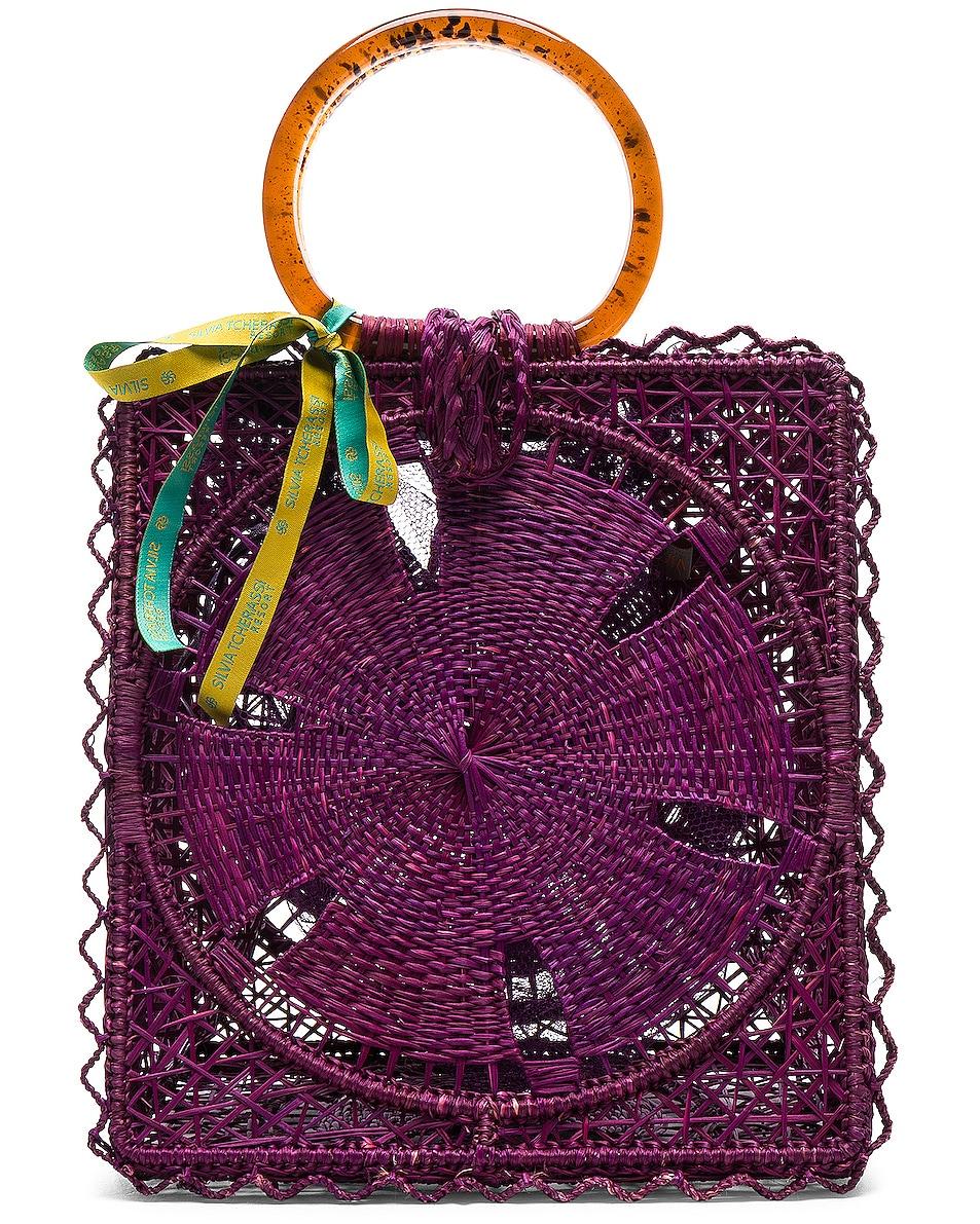 Image 1 of SILVIA TCHERASSI Luriza Bag in Magenta