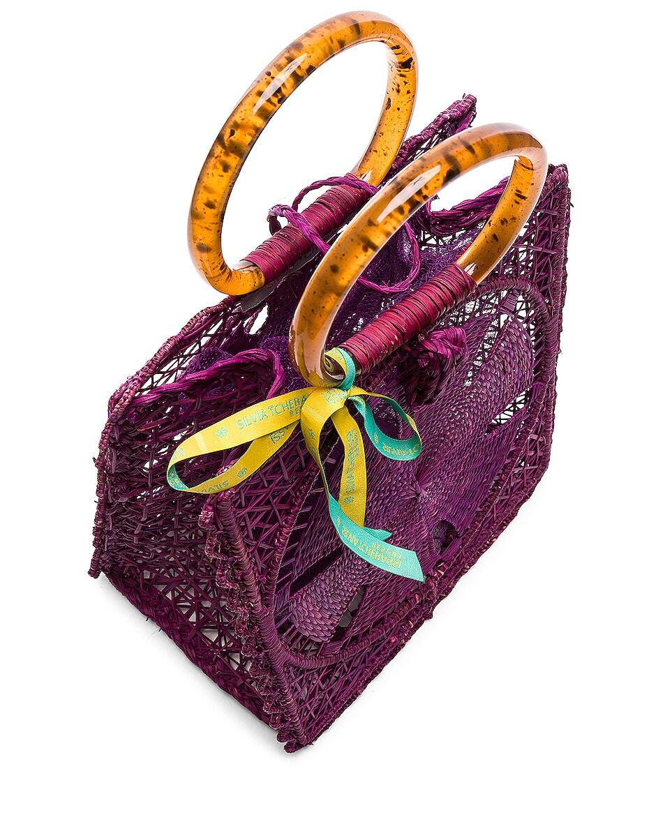 Image 5 of SILVIA TCHERASSI Luriza Bag in Magenta