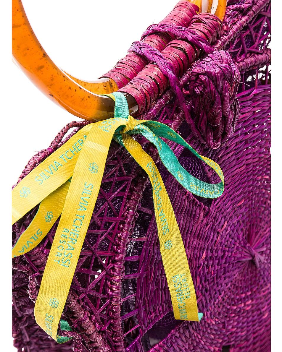 Image 7 of SILVIA TCHERASSI Luriza Bag in Magenta