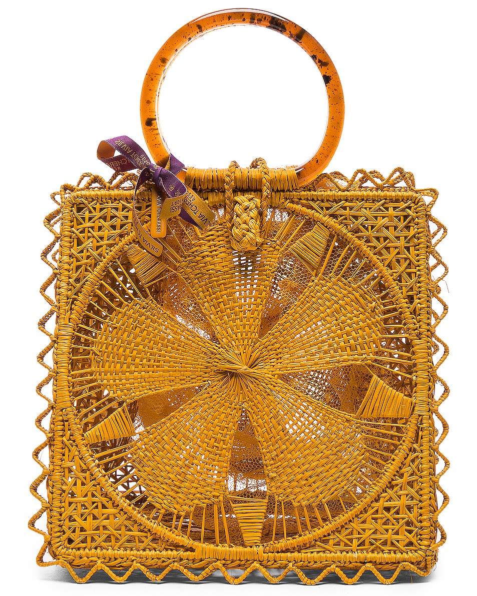 Image 1 of SILVIA TCHERASSI Luriza Bag in Mustard