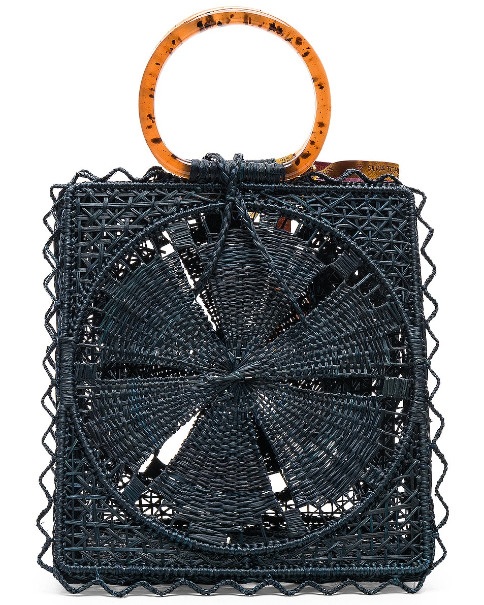 Image 3 of SILVIA TCHERASSI Luriza Bag in Blue