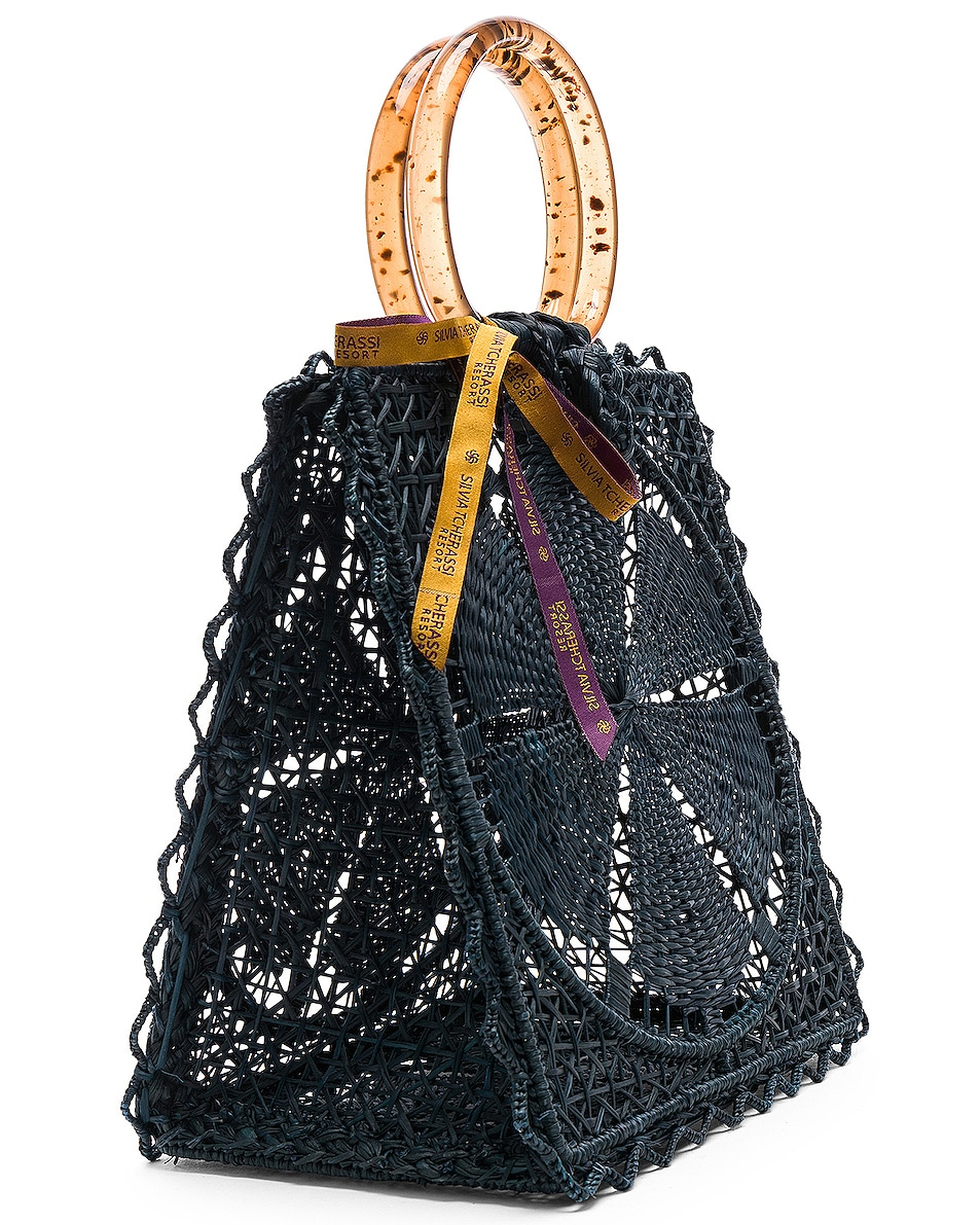 Image 4 of SILVIA TCHERASSI Luriza Bag in Blue