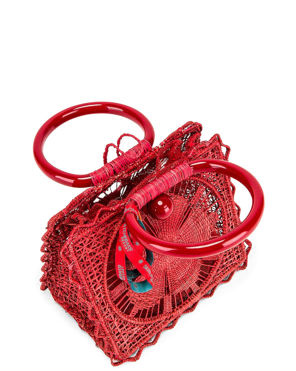 Image 5 of SILVIA TCHERASSI Camile Bag with Chain Strap in Red