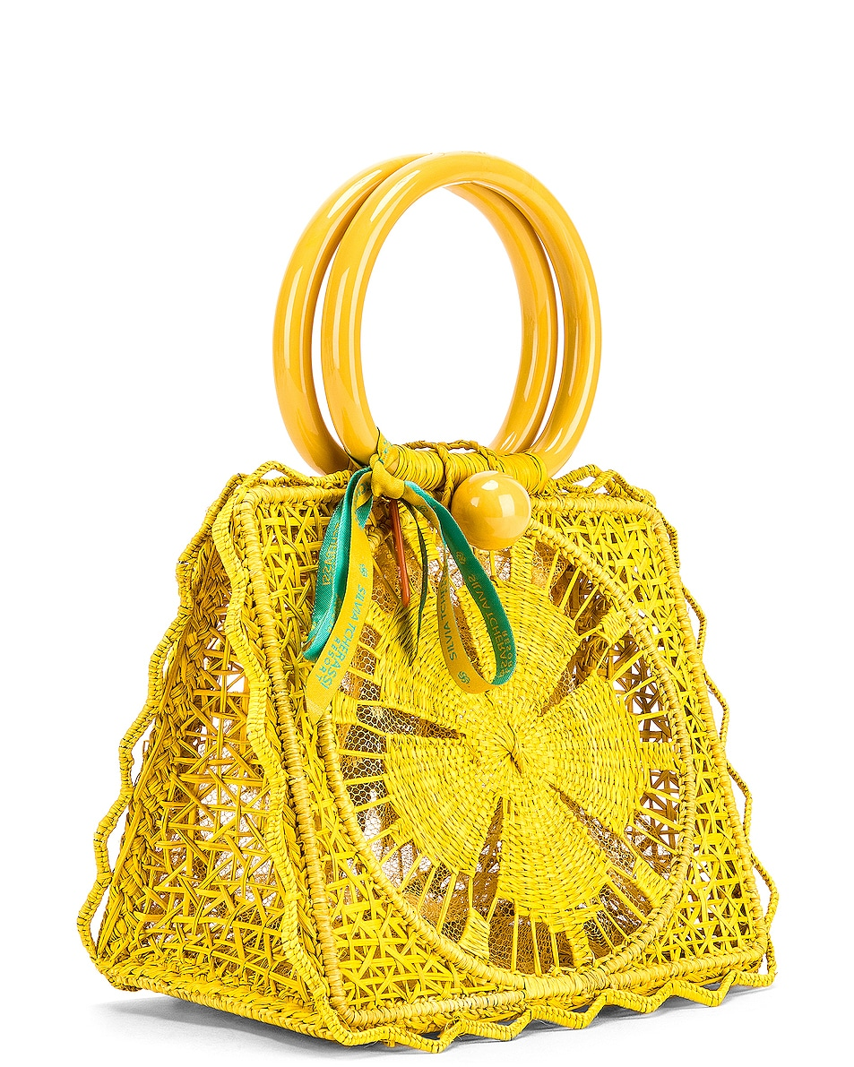 Image 4 of SILVIA TCHERASSI Camile Bag with Chain Strap in Yellow