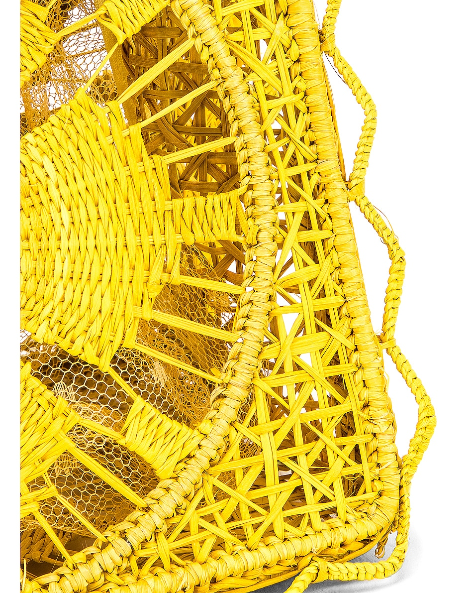 Image 8 of SILVIA TCHERASSI Camile Bag with Chain Strap in Yellow