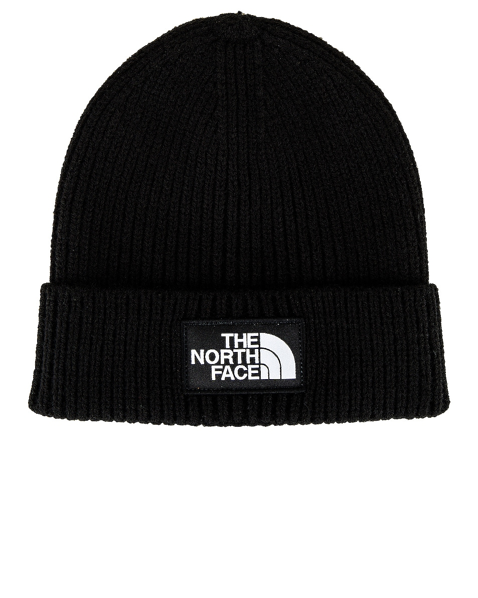 Image 1 of The North Face Cuffed Beanie in TNF Black