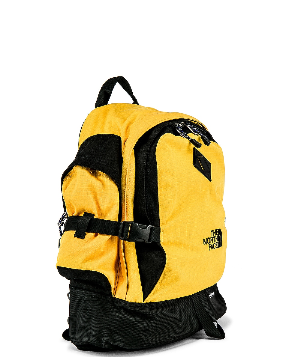 Image 3 of The North Face Wasatch Reissue Bag in TNF Yellow & TNF Black