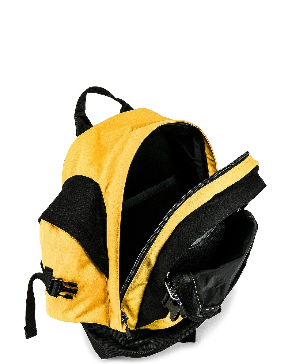 787cdde8b9e Image 4 of The North Face Wasatch Reissue Bag in TNF Yellow & TNF Black