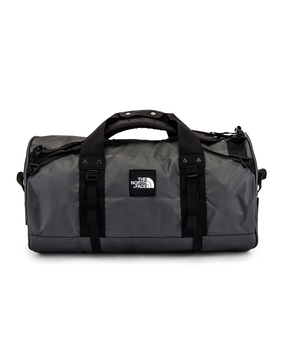 Image 1 of The North Face Explore X-Duffel in Asphalt Grey & TNF Black