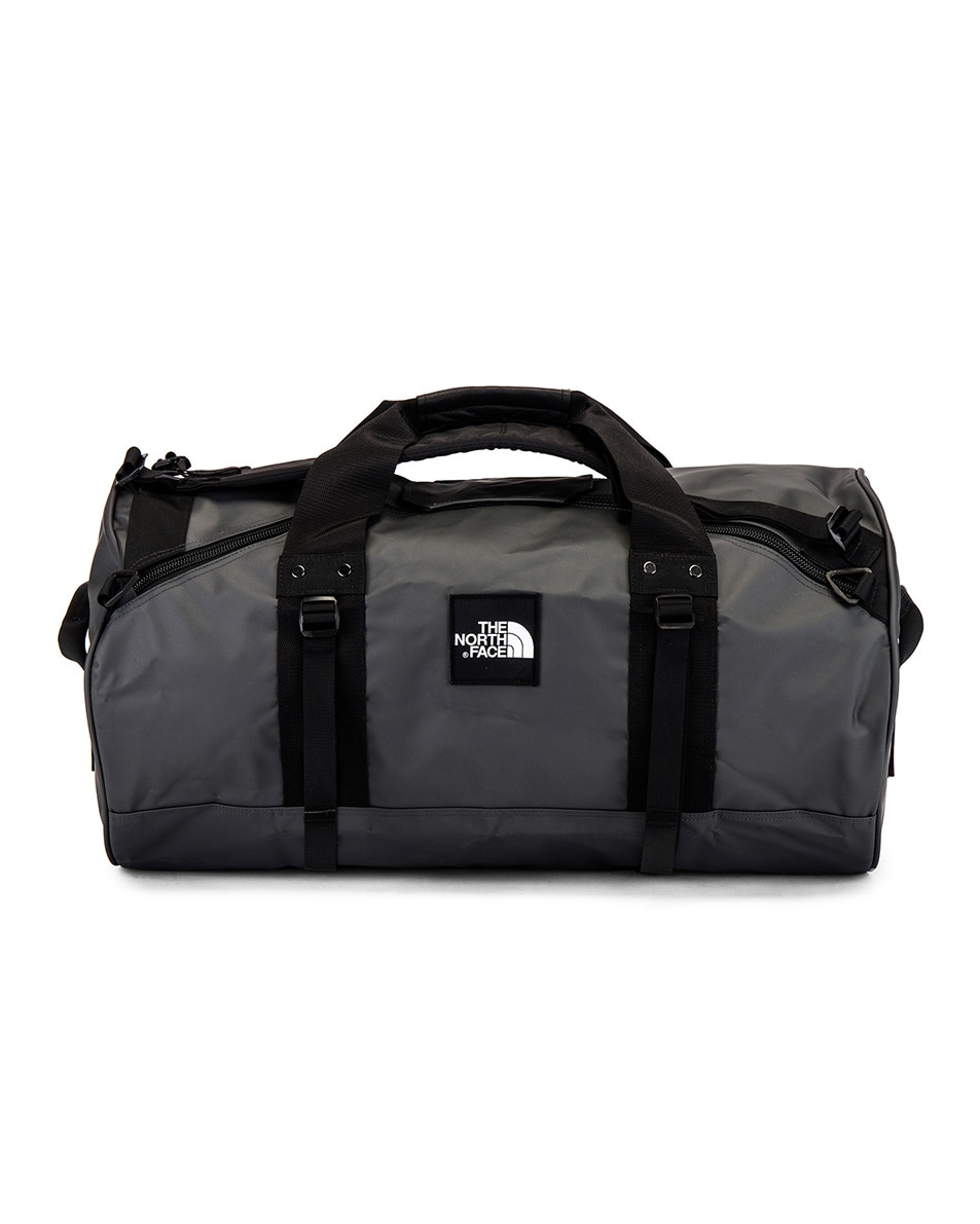 Image 2 of The North Face Explore X-Duffel in Asphalt Grey & TNF Black