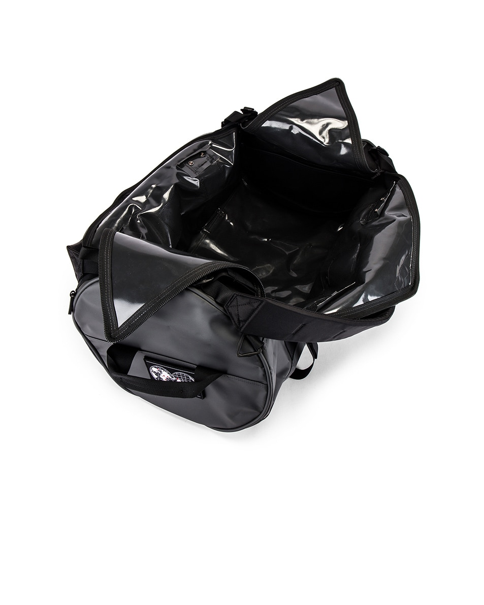 Image 5 of The North Face Explore X-Duffel in Asphalt Grey & TNF Black