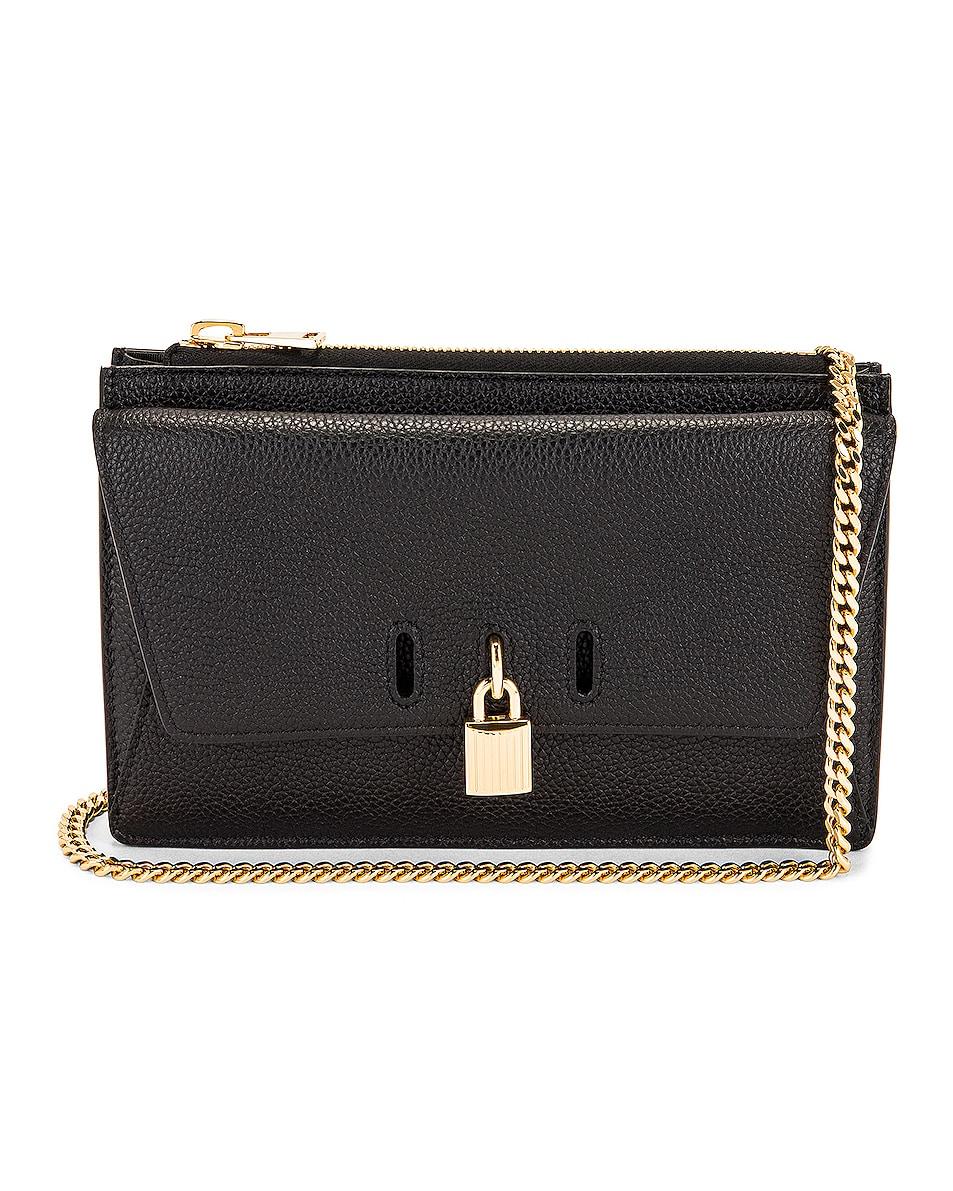 Image 1 of TOM FORD Padlock Mini Bag On Chain in Black