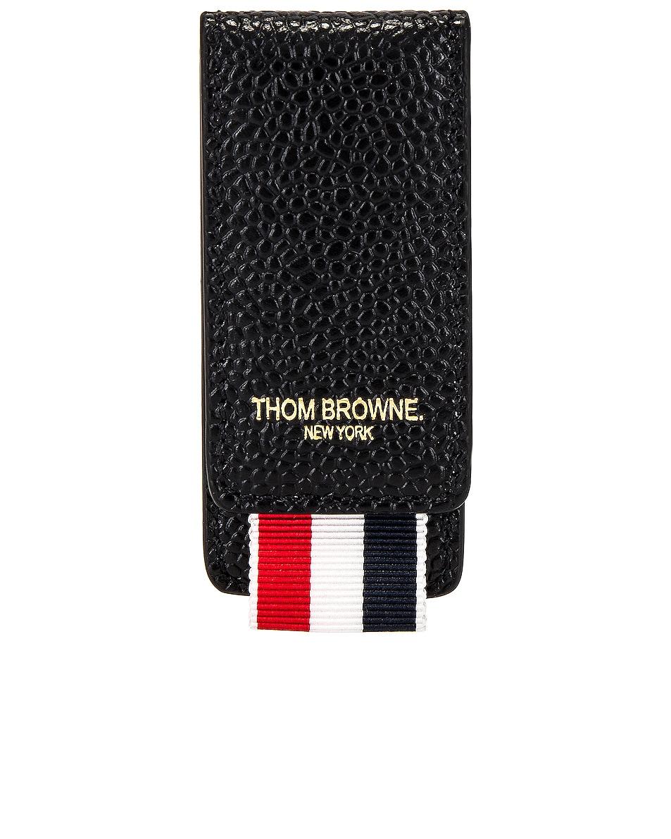 Image 1 of Thom Browne Money Clip in Black
