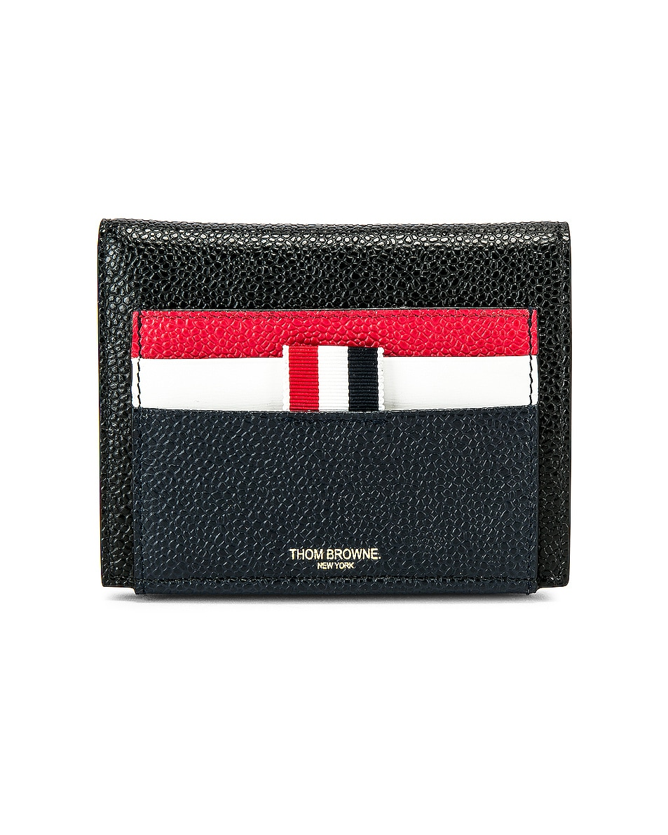 Image 1 of Thom Browne Cardholder Billfold in Red, White & Blue