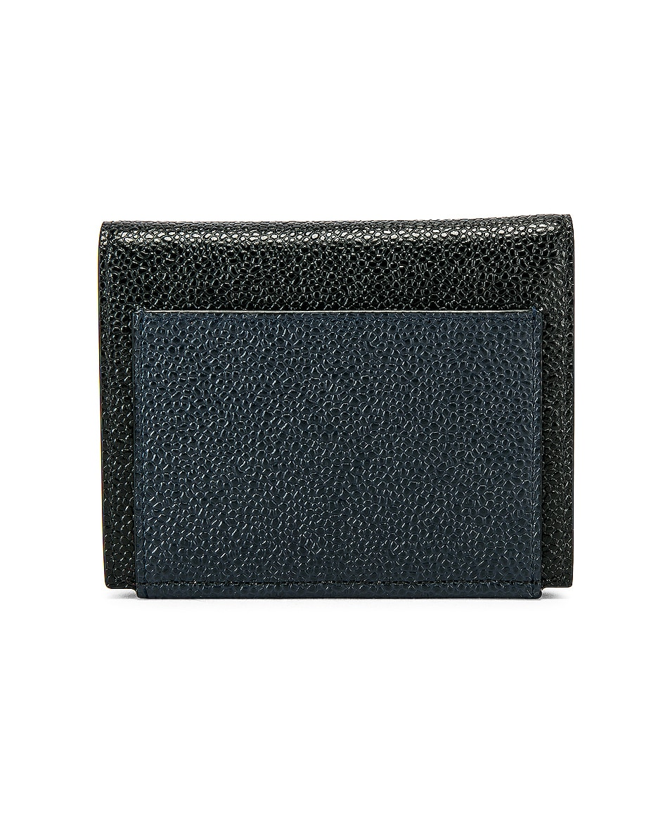 Image 2 of Thom Browne Cardholder Billfold in Red, White & Blue