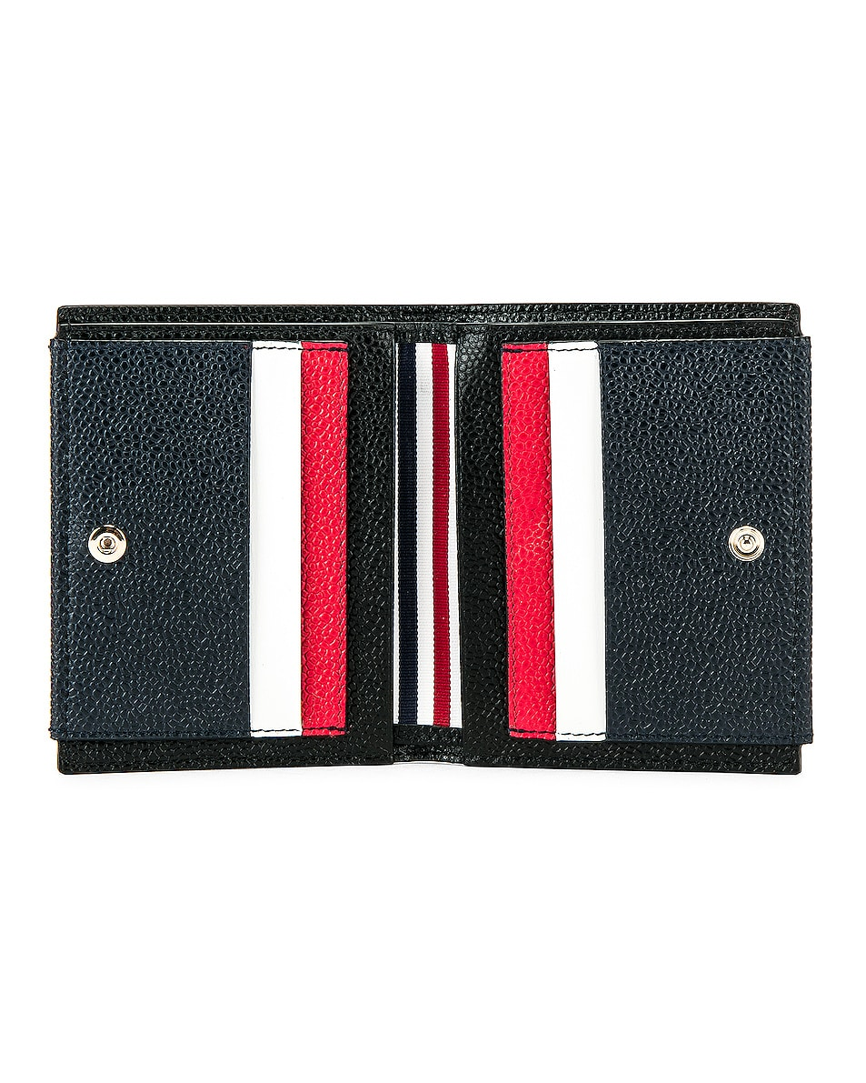 Image 4 of Thom Browne Cardholder Billfold in Red, White & Blue