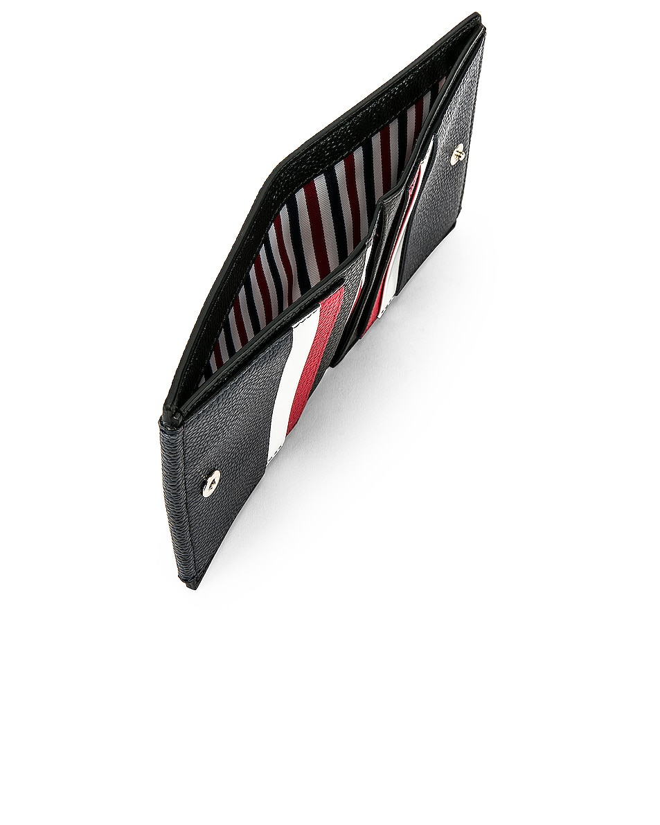 Image 5 of Thom Browne Cardholder Billfold in Red, White & Blue