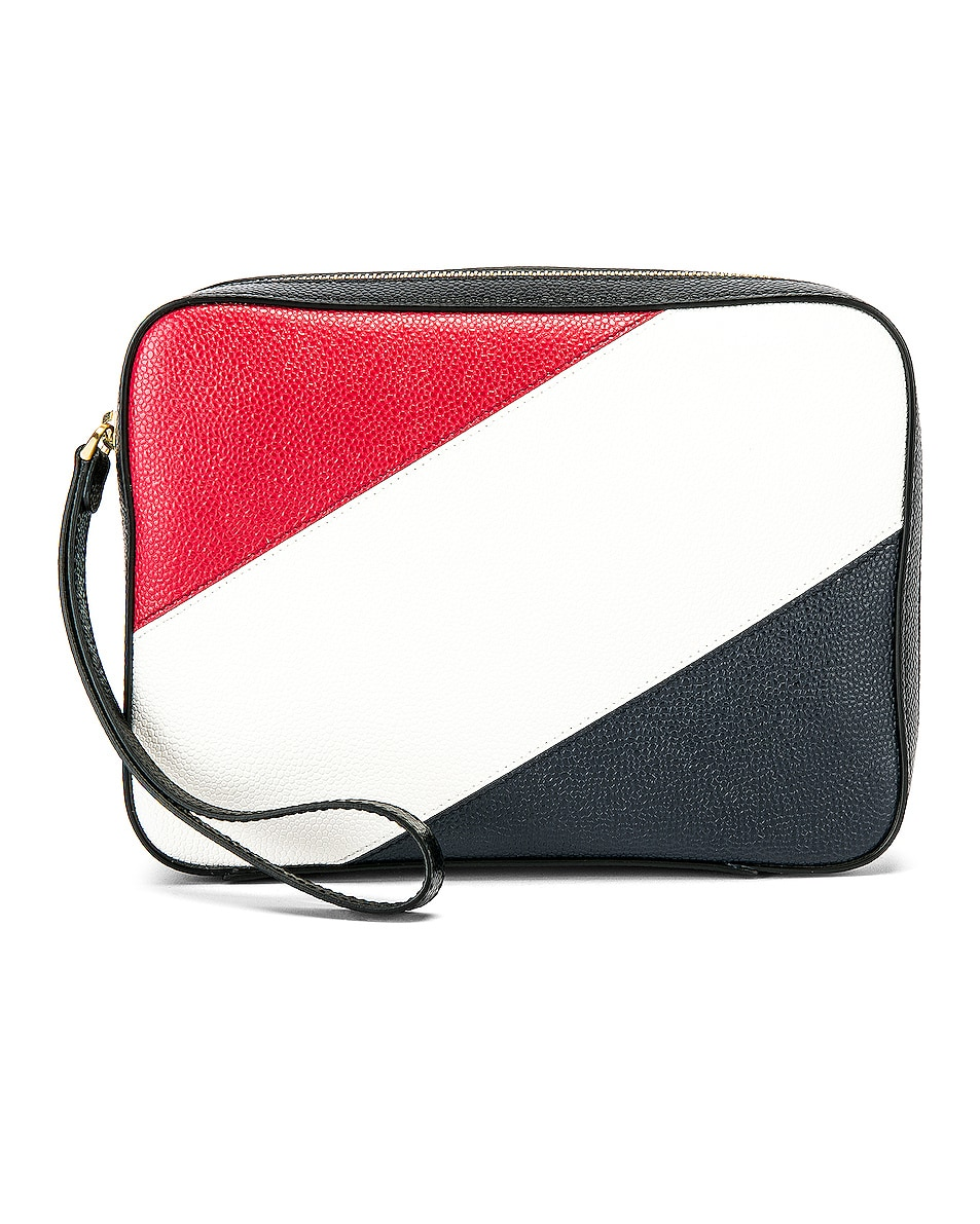 Image 1 of Thom Browne Kit Pouch in Black