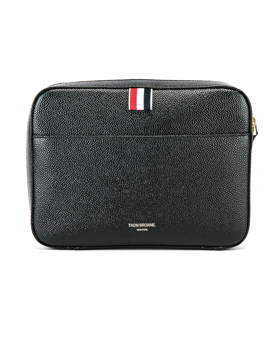 Image 2 of Thom Browne Kit Pouch in Black