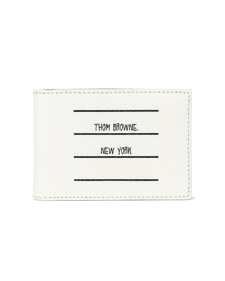 Image 1 of Thom Browne Money Clip Wallet in Black