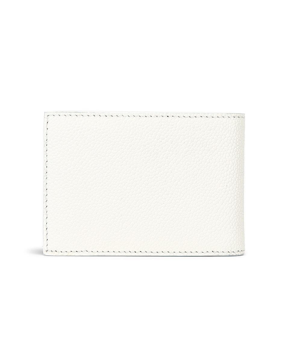 Image 2 of Thom Browne Money Clip Wallet in Black