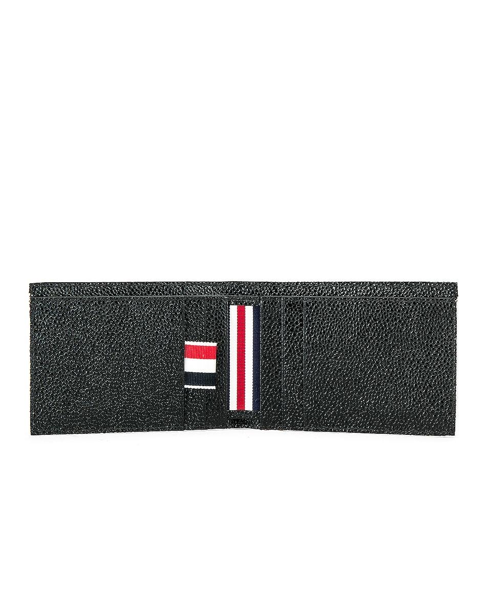 Image 4 of Thom Browne Money Clip Wallet in Black