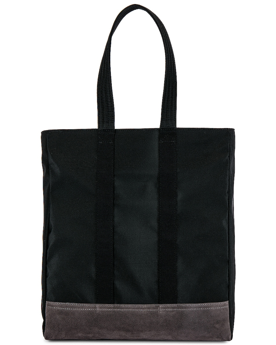 85%OFF Thom Browne Unstructured Tote Bag Black