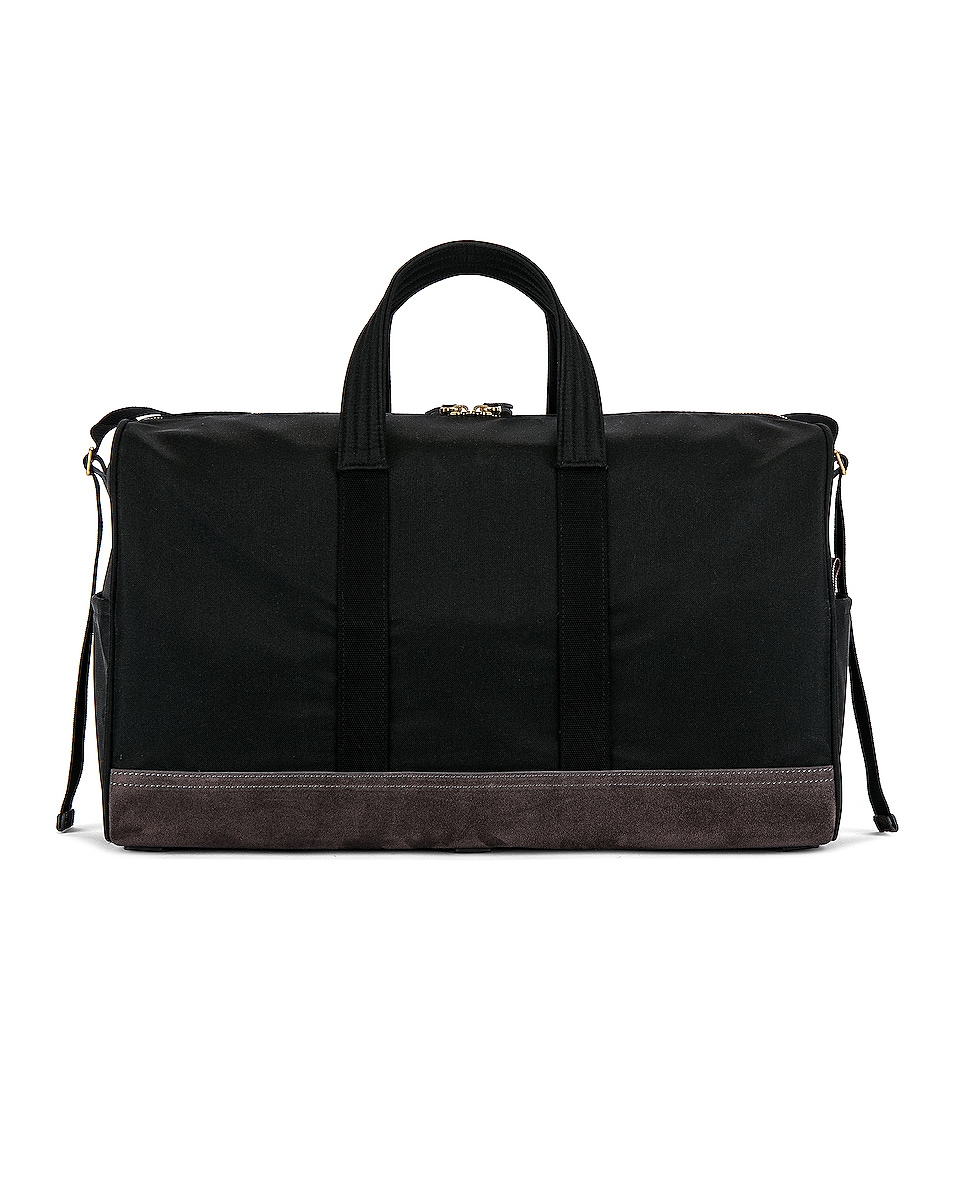 Image 2 of Thom Browne Unstructured Holdall in Black