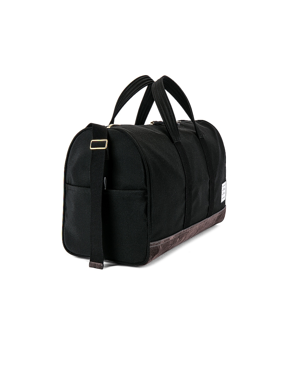 Image 3 of Thom Browne Unstructured Holdall in Black