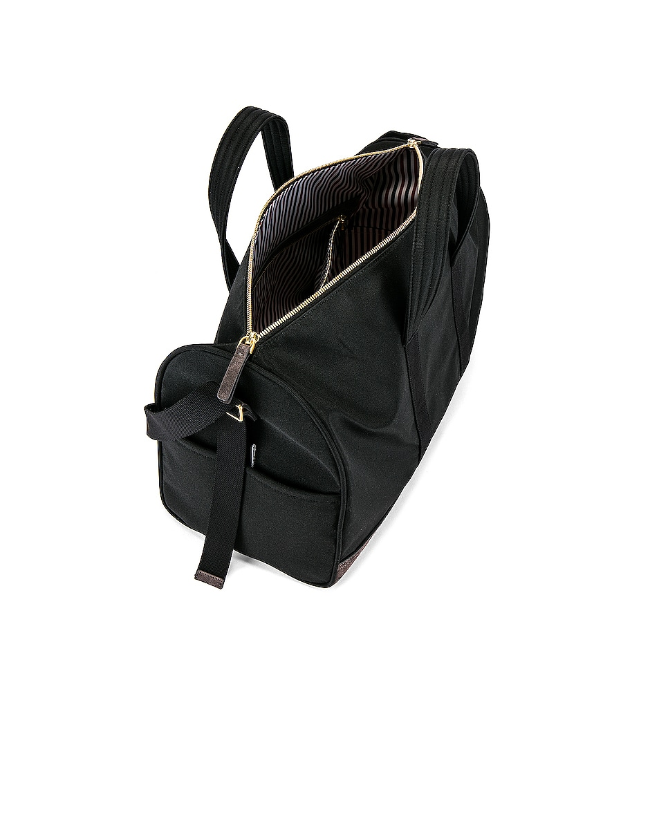 Image 4 of Thom Browne Unstructured Holdall in Black