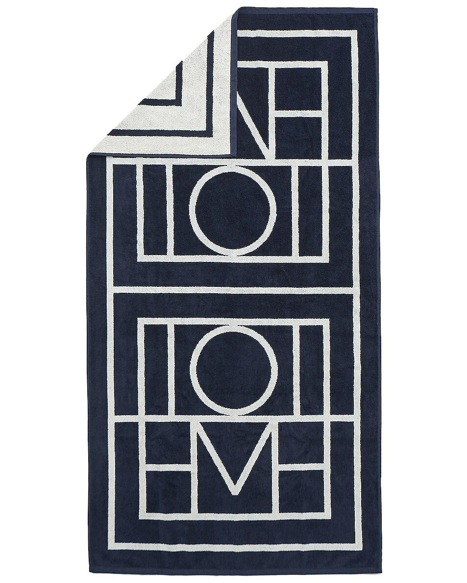 Image 1 of Toteme Biarritz Towel in Navy