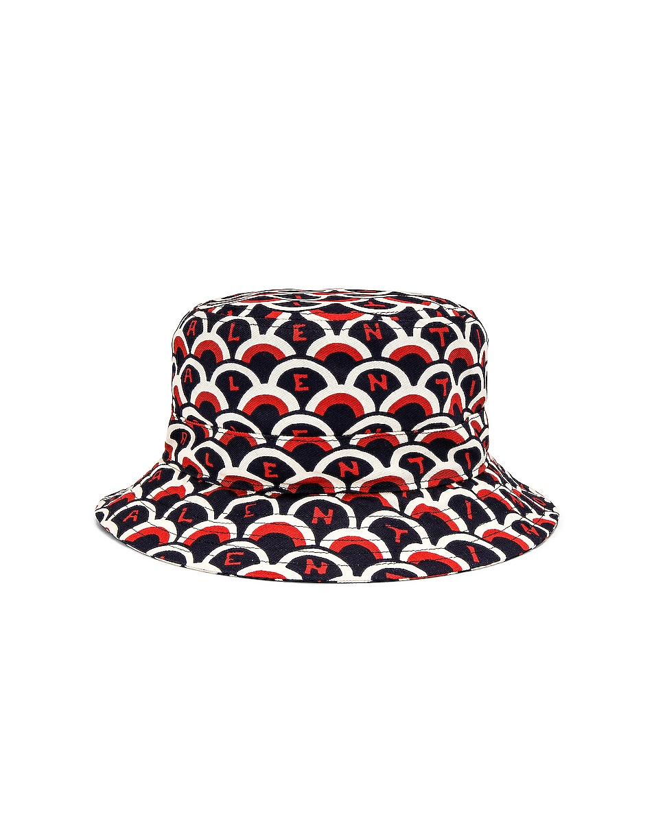 Image 1 of Valentino Printed Bucket Hat in Multi