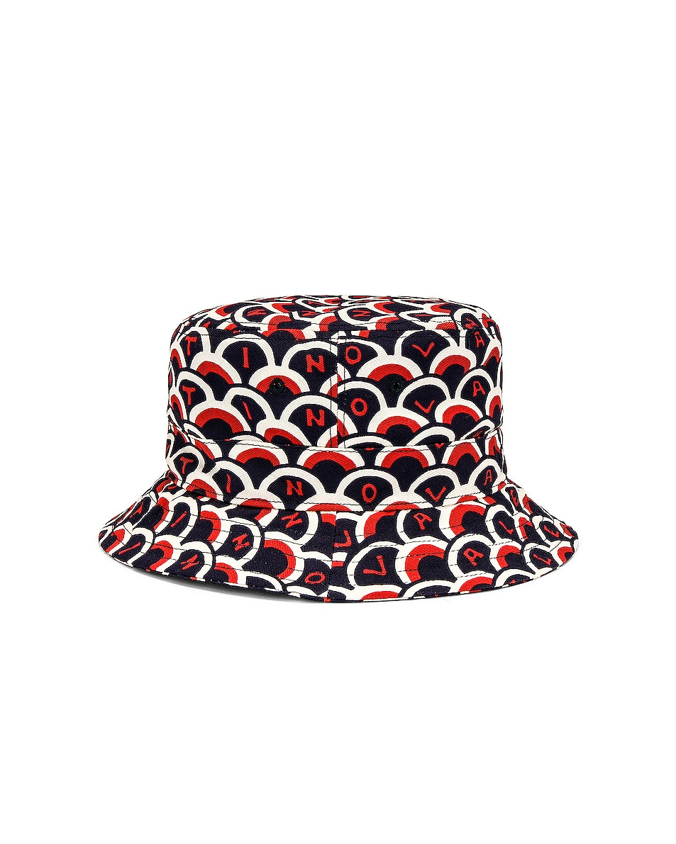 Image 3 of Valentino Printed Bucket Hat in Multi