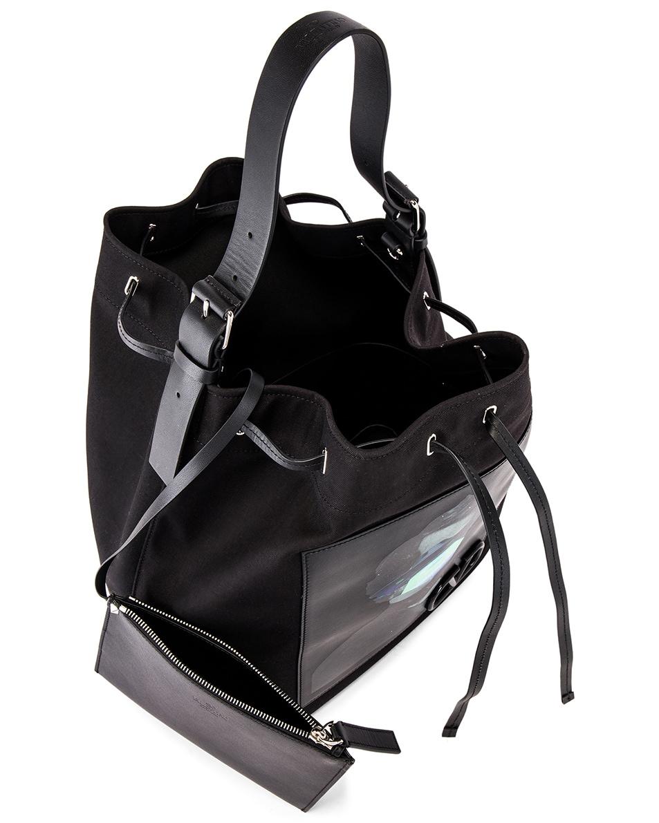 Image 5 of Valentino Bucket Bag in Black
