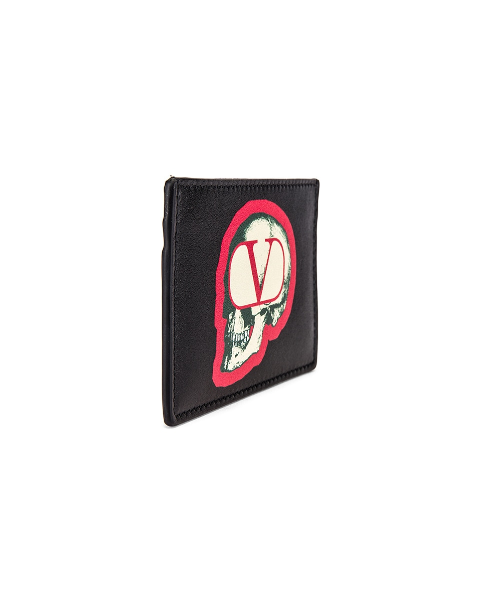 Image 3 of Valentino Card Holder in Black