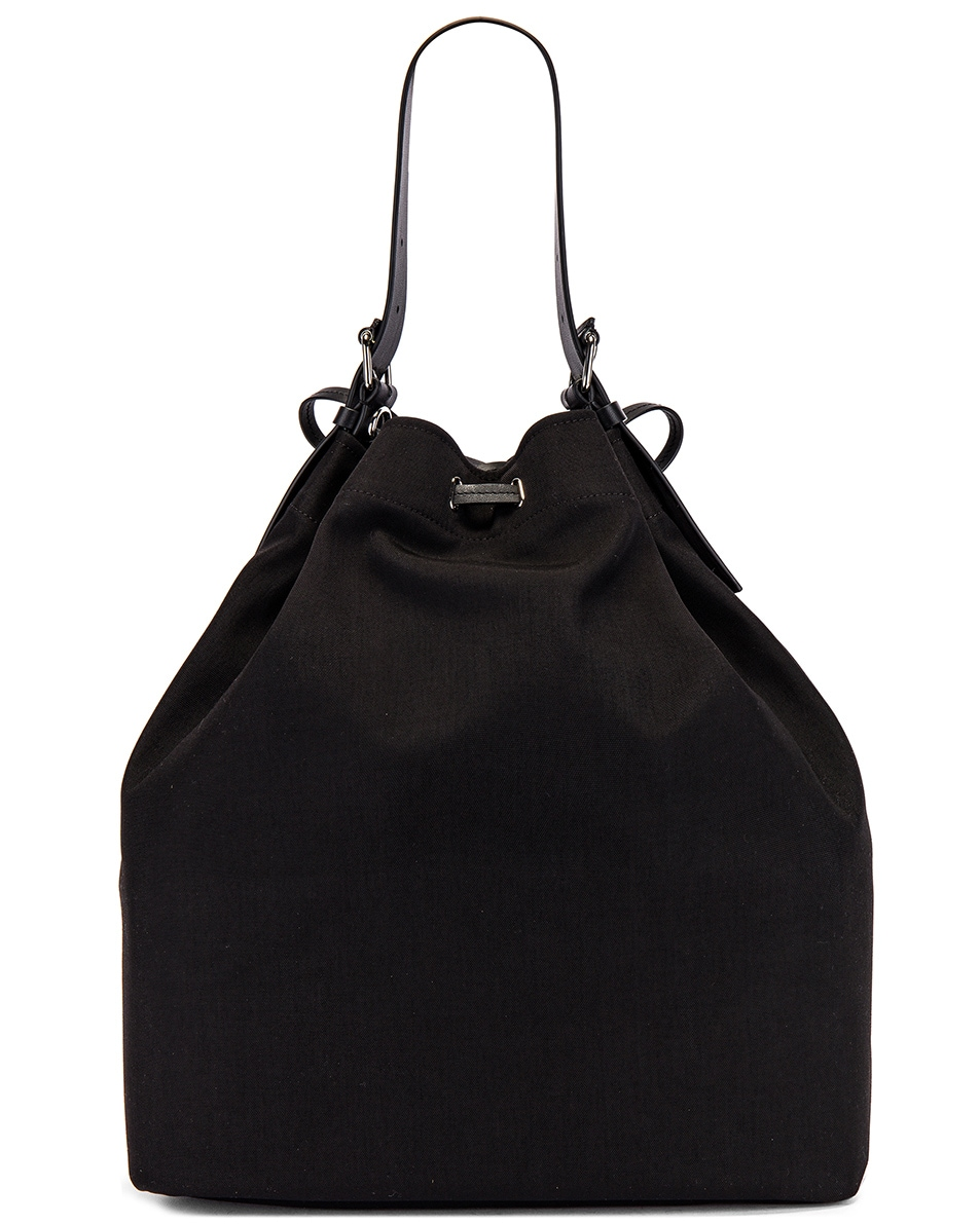 Image 2 of Valentino Bucket Bag in Black