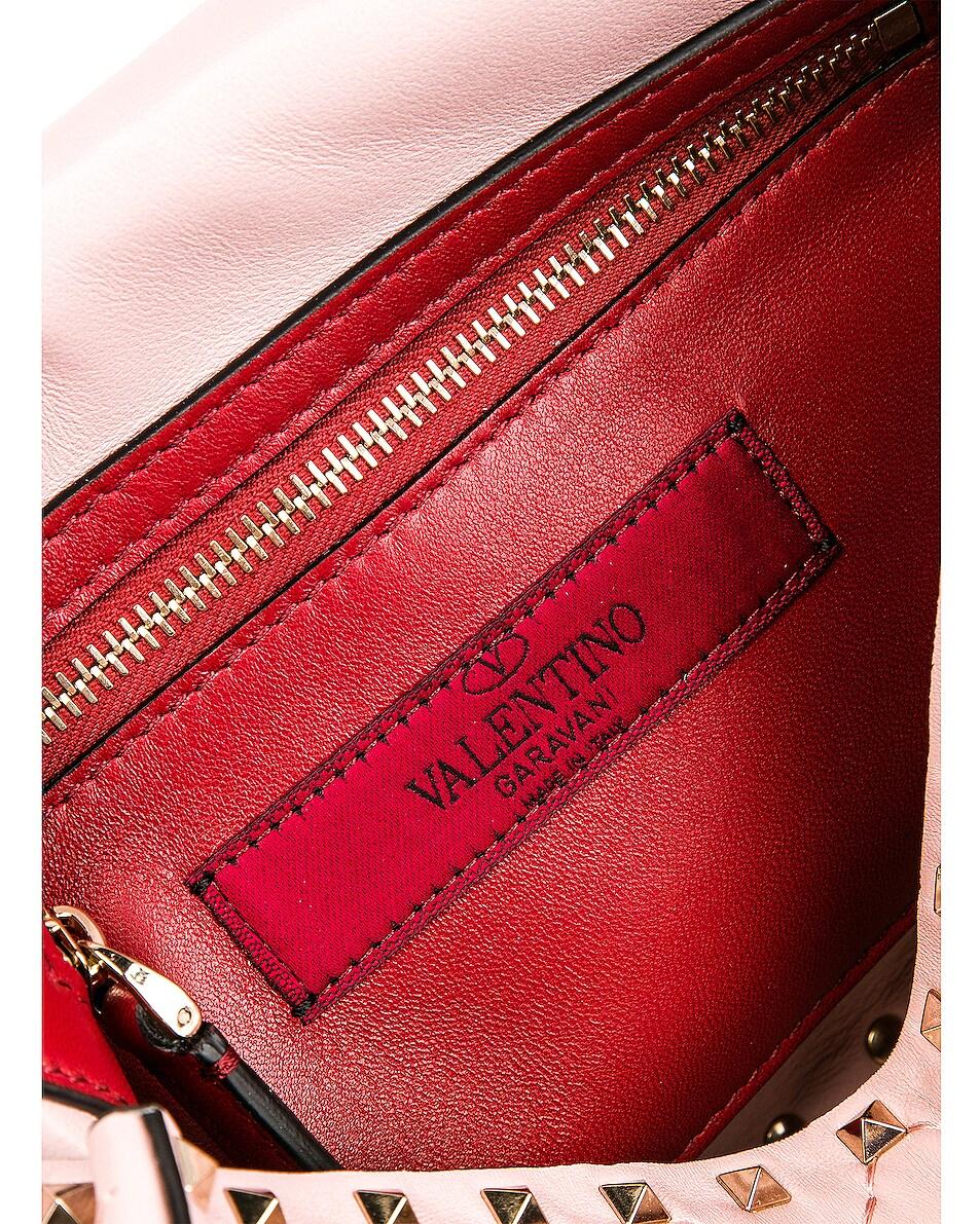 Image 7 of Valentino Medium Rockstud Spike Shoulder Bag in Water Rose