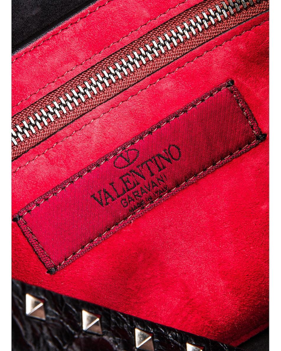 Image 7 of Valentino Rockstud Spike Medium Shoulder Bag in Nero