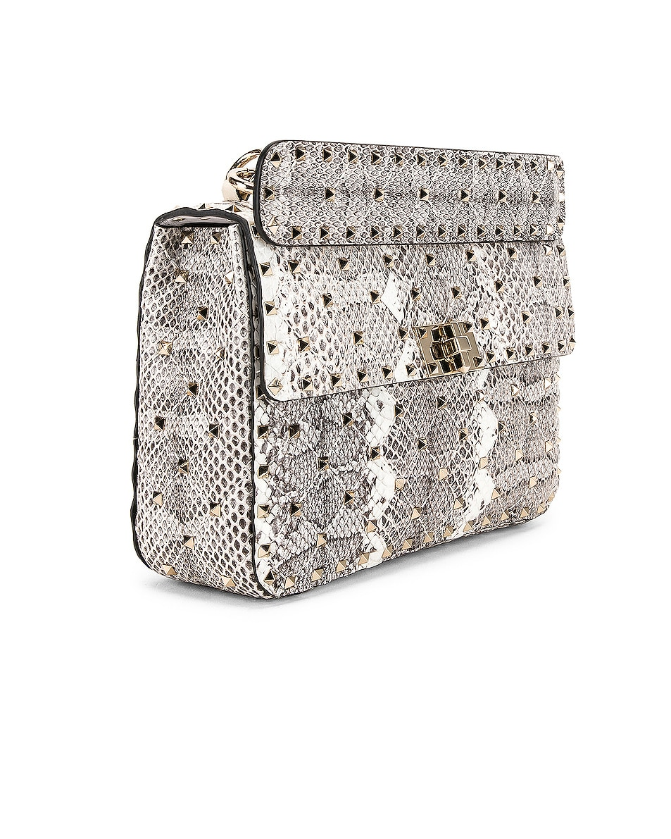 Image 4 of Valentino Rockstud Spike Medium Shoulder Bag in Multicolor Roccia