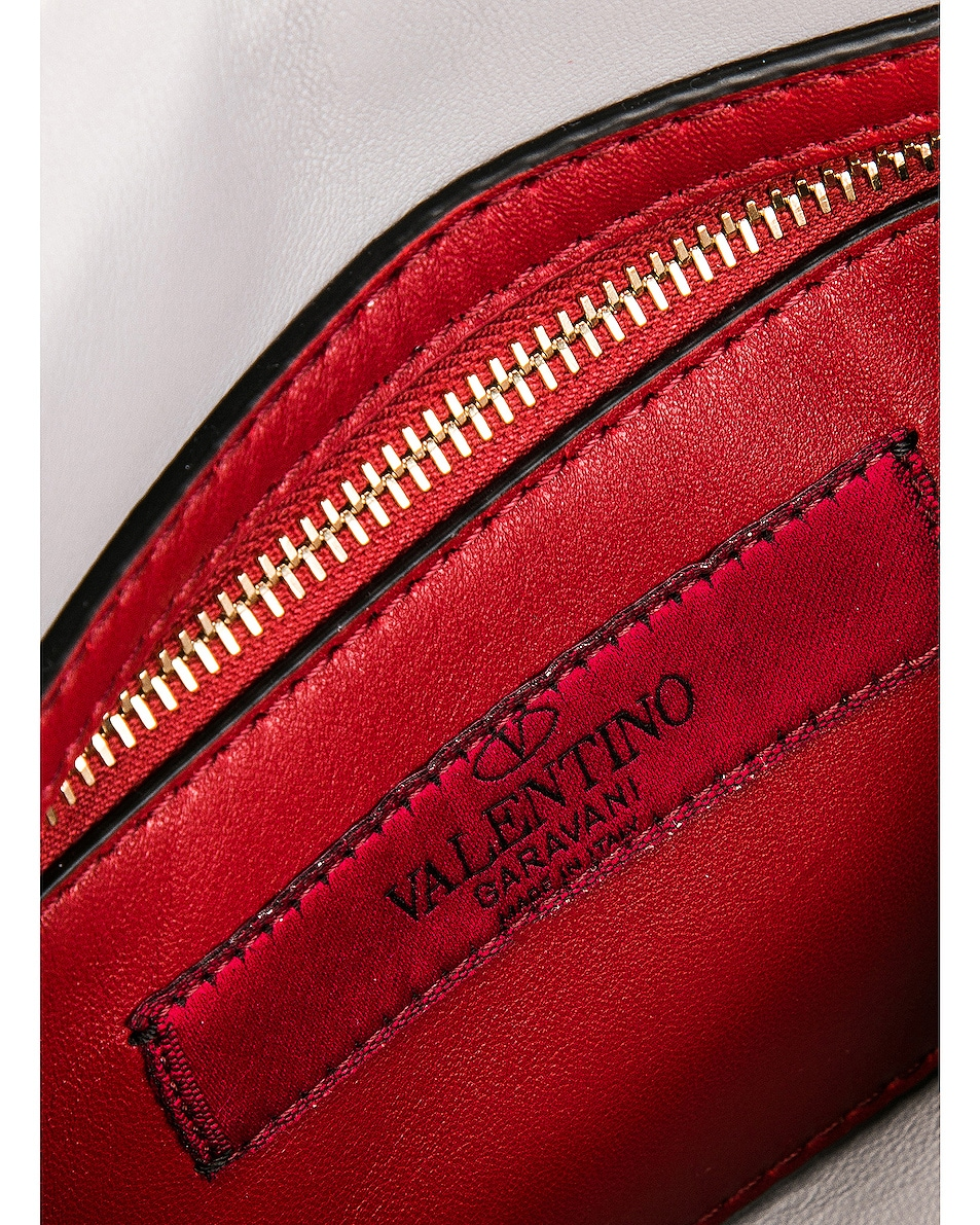 Image 7 of Valentino Rockstud Spike Medium Shoulder Bag in Multicolor Roccia