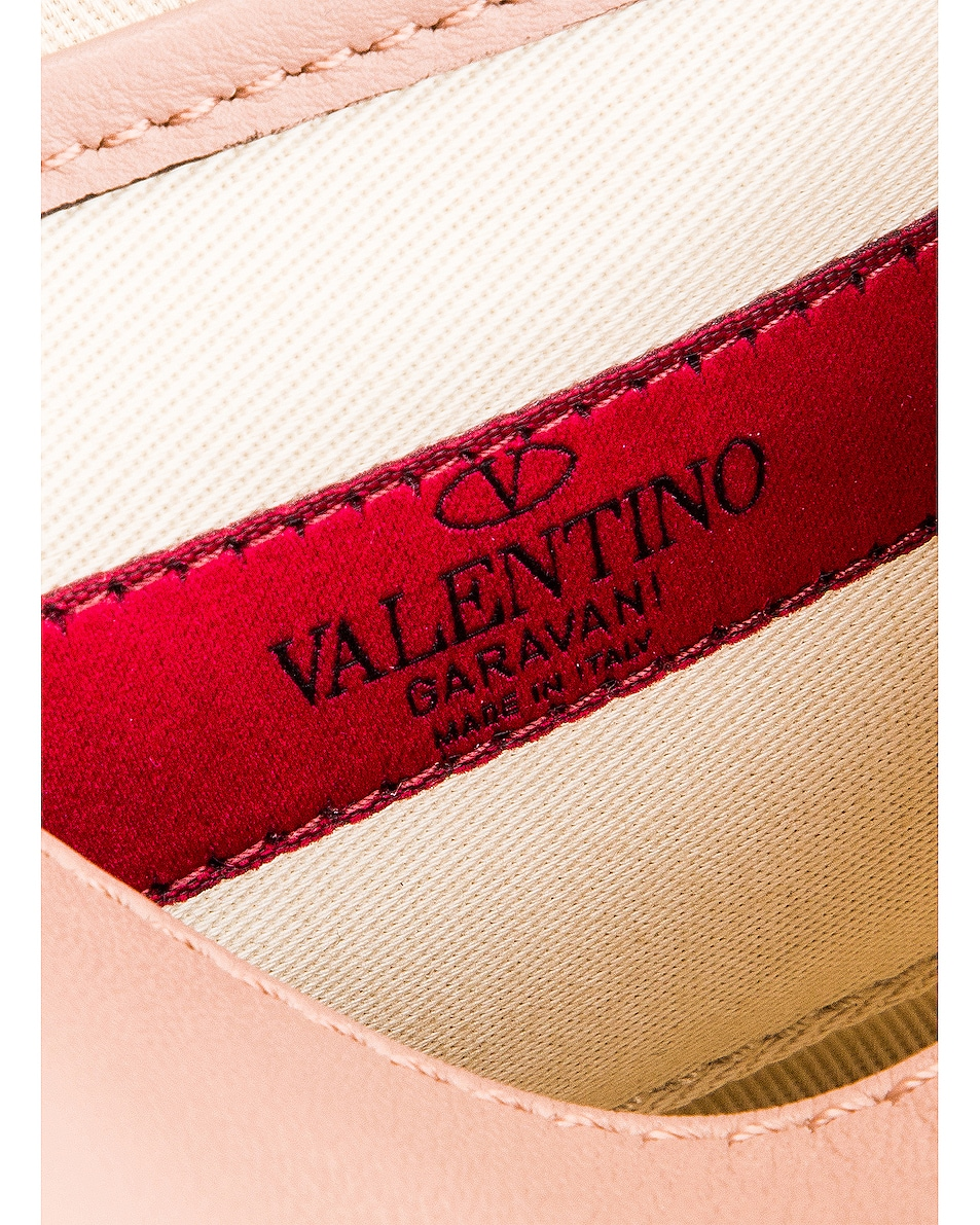 Image 7 of Valentino Rockstud Small Shoulder Bag in Rose Cannelle