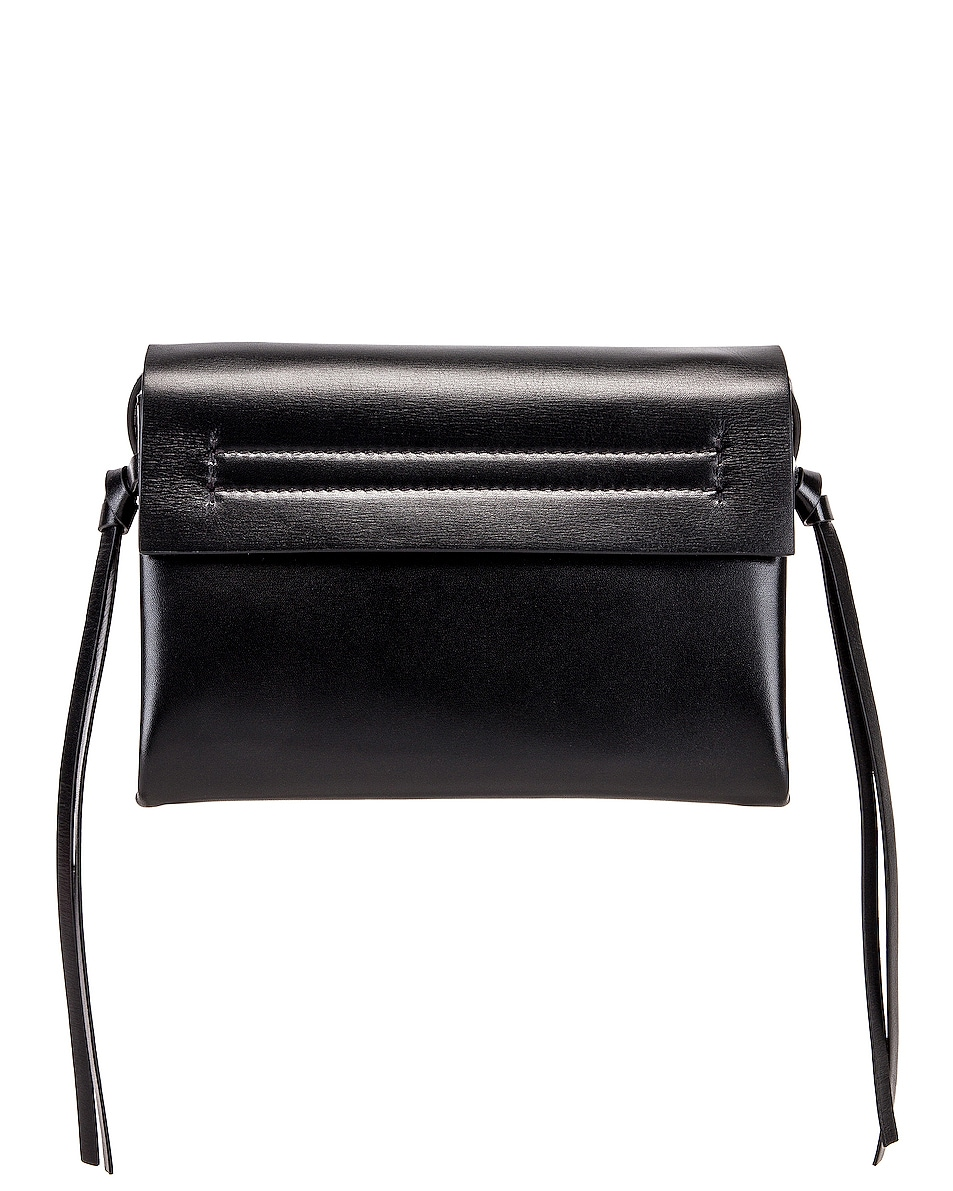 Image 3 of Valentino VRing Crossbody Bag in Nero
