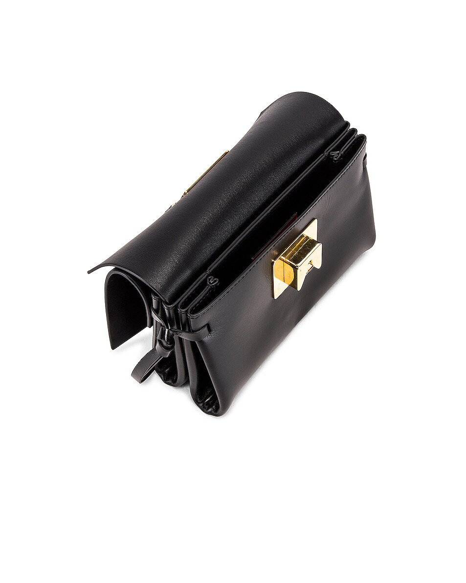 Image 5 of Valentino VRing Crossbody Bag in Nero